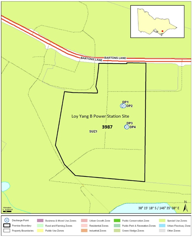 EPA Licence Map